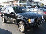 1996 Black Jeep Grand Cherokee Limited 4x4 #44452133