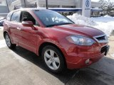 2008 Moroccan Red Pearl Acura RDX  #44511076