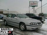 2001 Galaxy Silver Metallic Chevrolet Impala LS #44508517