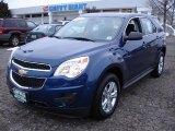 2010 Navy Blue Metallic Chevrolet Equinox LS #44508539