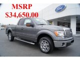 2011 Sterling Grey Metallic Ford F150 XLT SuperCab #44511127