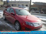 2011 Red Candy Metallic Ford Fusion SE #44511135
