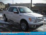 2011 White Platinum Metallic Tri-Coat Ford F150 Lariat SuperCrew 4x4 #44511140