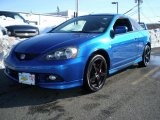 2006 Vivid Blue Pearl Acura RSX Type S Sports Coupe #44511144