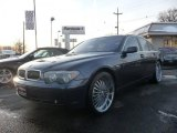 2003 Titanium Grey Metallic BMW 7 Series 745i Sedan #44511153