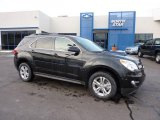 2011 Black Granite Metallic Chevrolet Equinox LT AWD #44511179