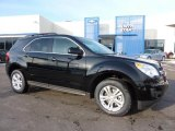 2011 Black Granite Metallic Chevrolet Equinox LT AWD #44511181