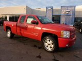 2011 Victory Red Chevrolet Silverado 1500 LT Extended Cab 4x4 #44511184