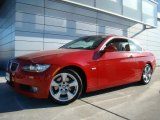 2008 Crimson Red BMW 3 Series 328i Convertible #44508601