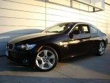 2008 Jet Black BMW 3 Series 328xi Coupe #44508602