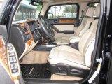 2009 Hummer H3  Light Cashmere/Ebony Interior