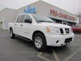 2007 White Nissan Titan SE Crew Cab #44511642