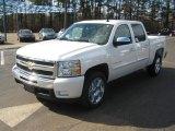 2011 White Diamond Tricoat Chevrolet Silverado 1500 LT Crew Cab #44509527