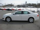 2011 White Suede Ford Fusion SE #44508633