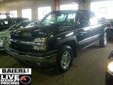 2005 Black Chevrolet Silverado 1500 LT Extended Cab 4x4 #44510497