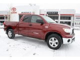 2007 Salsa Red Pearl Toyota Tundra SR5 Double Cab 4x4 #44510532