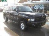 2001 Black Dodge Ram 1500 Sport Club Cab 4x4 #44511248