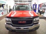 2005 Fire Red GMC Sierra 1500 Work Truck Regular Cab 4x4 #44511250