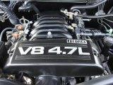 2005 Toyota Tundra Limited Double Cab 4.7 Liter DOHC 32-Valve V8 Engine