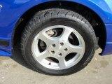 2002 Ford Mustang V6 Convertible Wheel