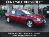 2003 Blaze Red Crystal Pearl Dodge Neon SXT #44508966