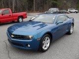 2010 Aqua Blue Metallic Chevrolet Camaro LT Coupe #44511855