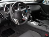 2010 Chevrolet Camaro LT Coupe Black Interior