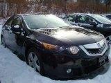 2009 Crystal Black Pearl Acura TSX Sedan #44508985