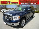 2008 Patriot Blue Pearl Dodge Ram 1500 Big Horn Edition Quad Cab #44511885