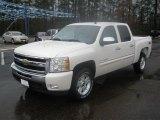 2011 White Diamond Tricoat Chevrolet Silverado 1500 LT Crew Cab 4x4 #44511893