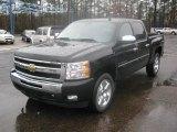 2011 Black Chevrolet Silverado 1500 LT Crew Cab #44511894