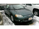 2002 Chrysler Sebring Onyx Green Pearl