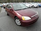 2002 Radiant Ruby Red Pearl Honda Civic EX Sedan #44511365