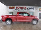 2011 Barcelona Red Metallic Toyota Tundra TRD Double Cab 4x4 #44510656