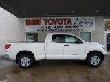 2011 Super White Toyota Tundra Double Cab 4x4 #44510657