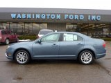 2011 Steel Blue Metallic Ford Fusion SEL V6 #44511415