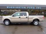 2011 Pale Adobe Metallic Ford F150 XLT SuperCrew 4x4 #44511420