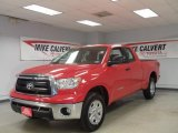 2010 Radiant Red Toyota Tundra Double Cab #44512257