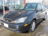 2003 Twilight Blue Metallic Ford Focus SE Sedan #44512262