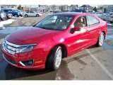 2010 Red Candy Metallic Ford Fusion SEL V6 #44510832