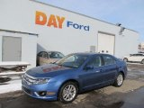 2010 Sport Blue Metallic Ford Fusion SEL V6 #44510978