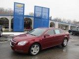 2008 Red Jewel Tint Coat Chevrolet Malibu LT Sedan #44510989