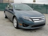 2011 Steel Blue Metallic Ford Fusion SE #44509150
