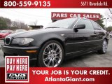 2004 Jet Black BMW 3 Series 325i Coupe #44512302