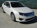 2011 White Platinum Tri-Coat Ford Fusion SEL #44509152