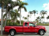 2007 Ford F250 Super Duty Red Clearcoat