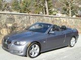 2007 Space Gray Metallic BMW 3 Series 335i Convertible #44511018