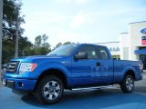 2011 Blue Flame Metallic Ford F150 STX SuperCab #44511019