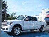 2011 White Platinum Metallic Tri-Coat Ford F150 Limited SuperCrew #44511022