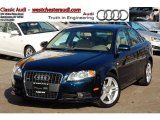 2008 Deep Sea Blue Pearl Effect Audi A4 2.0T quattro Sedan #44511529